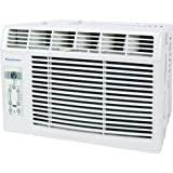 Keystone 5,000 BTU 115V Window-Mounted Air Conditioner with Follow Me LCD Remote Control