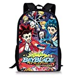 Manalo Bey Blade Burst Turbo Backpack with Bay blade Burst and Launcher INCLUDED AS A FREE GIFT,(H)