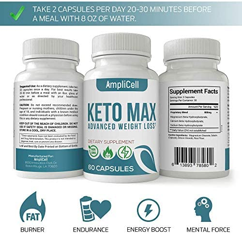 Keto Pills - Advanced Keto BHB Supplements w/Carb Blocker for Men & Women - Keto Diet Pills to Utilize Fat for Energy with Ketosis - Support Metabolism, Boost Energy & Manage Cravings – 60 caps 4
