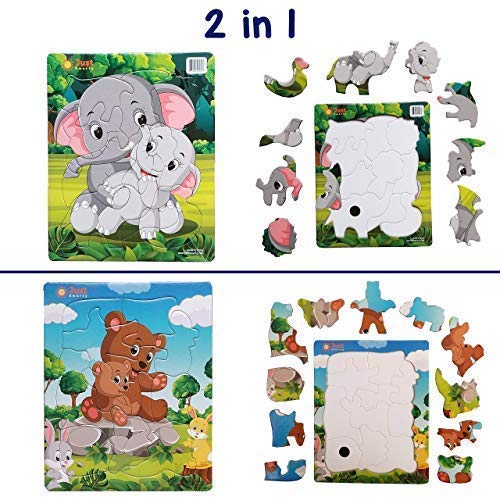 Just Smarty Jigsaw Toddler Puzzles 10 And 11 Pcs Kids Ages 3 4