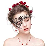 Masquerade Venetian Mask Women Shiny for Pretty Party Evening Prom Mask