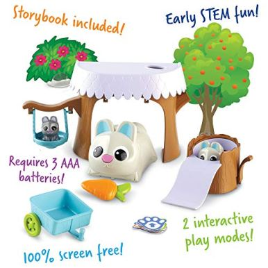 Learning-Resources-Coding-Critters-Bopper-Interactive-STEM-Coding-Pet-Early-Screen-Free-Coding-Toy-for-Preschooler-22-Pieces-Ages-4