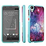HTC Desire 530 Case / HTC Desire 630 Case, DuroCase Hard Case Mint for HTC Desire 530 / HTC Desire 630 (Released in 2016) - (Unicorn Galaxy)