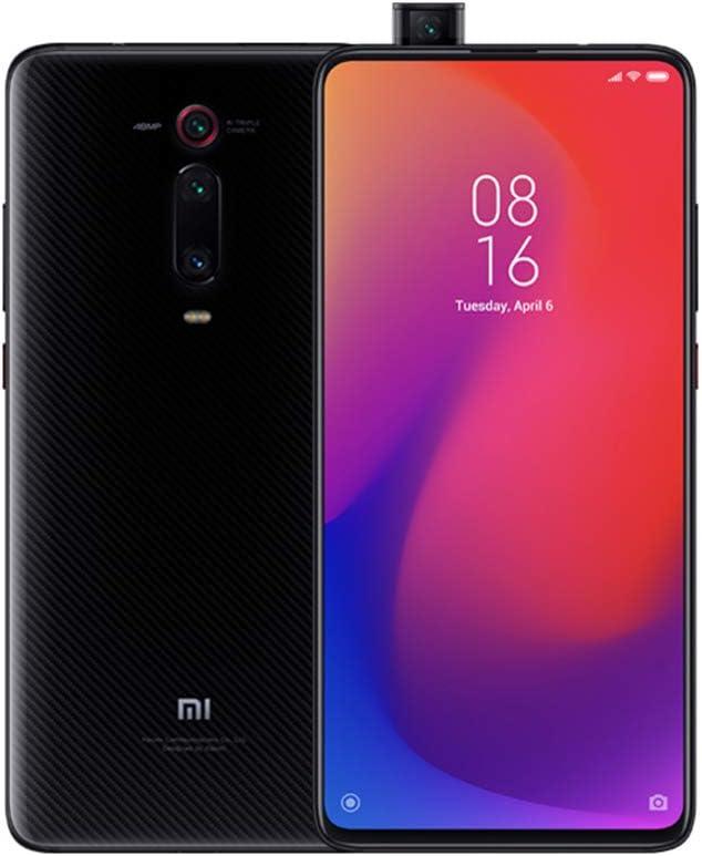 Xiaomi Mi 9T Pro Smartphones 6 Go De RAM + 128 Go de ROM, 6,39 ''Plein éCran, Processeur 855, 20MP Avant Et 48MP AI CaméRa ArrièRe Triple Téléphones Mobiles Version Mondiale (Noir)