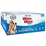 Wee Wee Dog Pee Pads Extra Large | 40 Count | Puppy Training Pee Pads for Dogs | XL Size