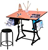 Product review for Offex Ashley Black Creative Hobby Table with Stool