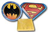 Batman vs Superman Party Supply Kit - Napkins and Plates