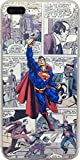 iPhone 7 Plus and 8 Plus Comic Strip Superhero Flexible TPU Case (Superman)