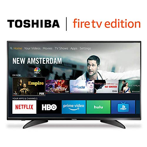 Toshiba 43LF621U19 43-inch 4K Ultra HD Smart LED TV HDR - Fire TV Edition
