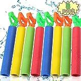 POKONBOY 8 Pack Water Guns for Kids Super Soaker Water Blaster Large Super Light Foam Squirt Guns Shooter Pool Toys - Summer Swimming Pool Beach Garden Water Toys for Boys Girls Adults