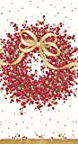 Caspari Hand Towels Christmas Bathroom Accessories Christmas Bathroom Decor Guest Towels Pepperberry Pk 30
