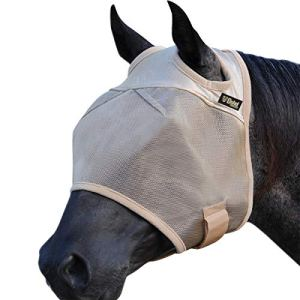 Cashel Econo Horse Fly Mask, Standard with Ears