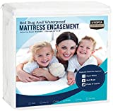 Utopia Bedding Zippered Mattress Encasement - Waterproof Mattress Protecter (Full)