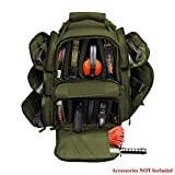 Backpack + Range Bag with Large Padded Deluxe Tactical Divider and 9 Clip Mag Holder