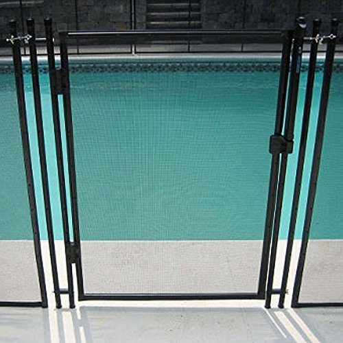 In Ground Pool Safety Fence Removable...