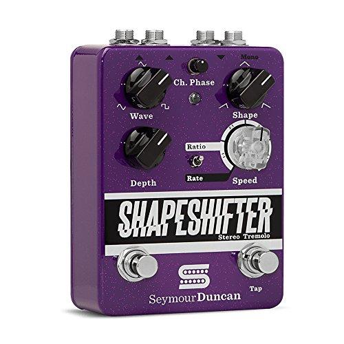 Seymour Duncan ShapeShifter Stere Tremolo Guitar Tremolo Effect Pedal