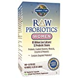 Garden of Life - RAW Probiotics Women - Acidophilus Live Cultures - Probiotic-Created Vitamins, Minerals, Enzymes and Prebiotics - Gluten Free - 90 Vegetarian Capsules