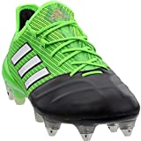 adidas Mens Ace 17.1 Leather Soft Ground Soccer Casual Cleats, Green, 10
