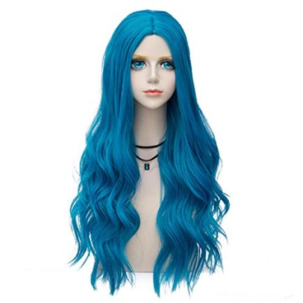 Probeauty-Bombshell-Collection-Lolita-Ombre-Wig-Dark-Root-70CM-Long-Spiral-Curly-Women-Anime-Cosplay-Wigs-Blue-F3