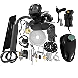 MOTOOS 2-stroke 50cc engine kit Fits most 26' or 28' wheeled bikes with V-frame for Bicycle Mountain and Road Bike Gas Motorized Motor Bike