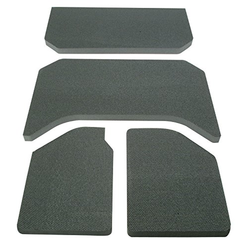 Design Engineering 050137 Boom Mat Sound Deadening Headliner for 4-Door Jeep Wrangler JK (2011-2018) - Black