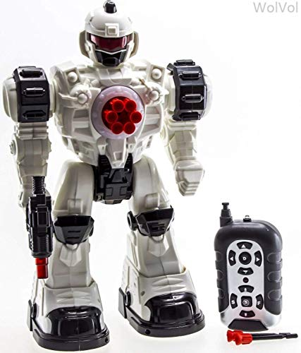 WolVol Remote Control Robot Police