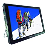 Supersonic SC-2812 12' Portable Ultra Lightweight Widescreen LED TV, HDMI, SD, MMC, USB, VGA Remote Control