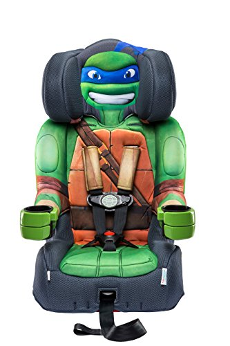 KidsEmbrace 2-in-1 Harness Booster Car Seat, Nickelodeon Teenage Mutant Ninja Turtles Leo