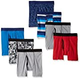 Hanes Boys' Comfortsoft Printed Boxer Briefs, assorted, M