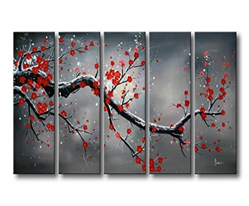Cool festive and popular winter wall decor home wall for What kind of paint to use on kitchen cabinets for ready to hang canvas wall art