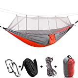YZ-Room Camping Hammock with Mosquito Net,Dry Jungle Hammock,360 Degrees of Portable Insect Protection for Backpacking,Camping,Outdoor,Travel.etc (04)
