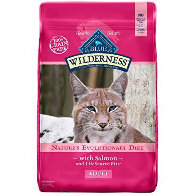 Blue Buffalo Wilderness High Protein Grain Free, Natural Adult...