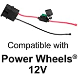 Wire Harness Connector for Fisher-Price Power Wheels 12-Volt SLA Battery