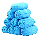 100 Pack Shoe Covers - Disposable Boot Cover for Medical, Construction, Workplace, Indoor Carpet Floor Protection - Non-Slip by THETIS Homes ...
