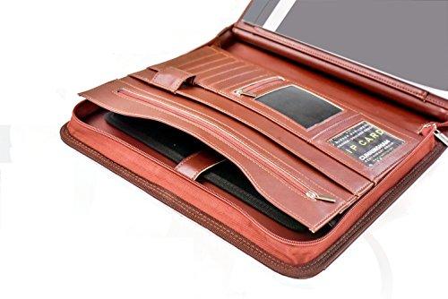 Professional Executive Business Resume Portfolio Padfolio Organizer Pu Leather