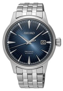 Seiko Men's Presage 23 Jewel Automatic Blue Dial Watch with Date