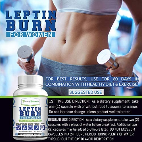 Leptin Detox + Leptin Burn Combo - Vegan - Leptin Supplements for Weight Loss for Women - Leptin Resistance Supplements - All Natural Safe and Effective - Non-GMO - 1 Month 5