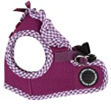 Puppia Authentic Vivien Vest Harness B, Medium, Purple
