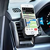 Bestfy Universal Air Vent Holder Cradle Car Mount for iPhone X/8/8 plus/7/7 plus/6s/6s plus/Samsung Galaxy S8/ S8 plus/S7/S7 edge/LG/Nexus/Sony/ and More (2.2''-3.7'')