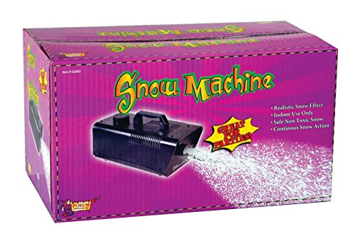 Forum Novelties 120V/470W Snow Machine, Mini, Black