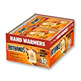 HotHands Hand Warmers - Long Lasting Safe Natural Odorless Air Activated Warmers - Up to 10 Hours of Heat - 40 Pair