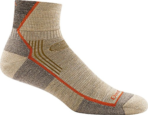Darn Tough Hiker 1/4 Cushion Sock - Men's Oatmeal Large