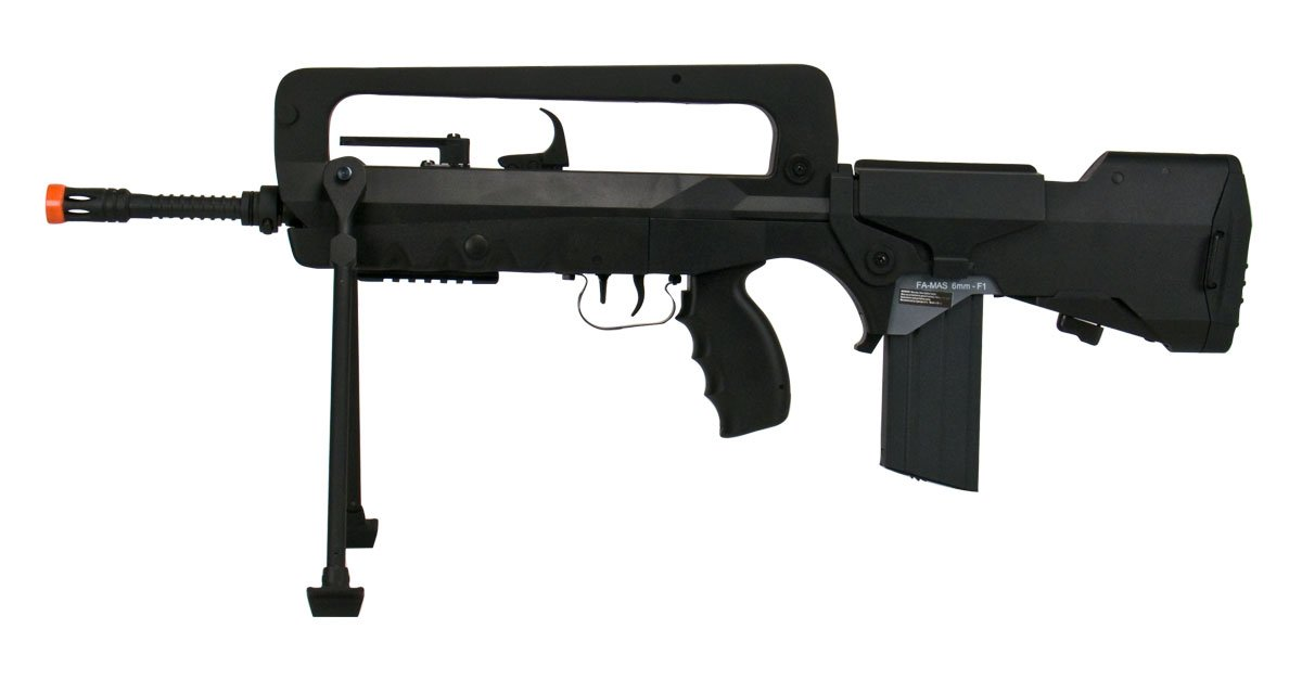 Soft Air Famas Foreign Legion AEG Electric Powered Airsoft Rifle