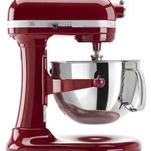 KitchenAid KP26M1XER 6 Qt. Professional 600 Series Bowl-Lift Stand Mixer - Empire Red 3