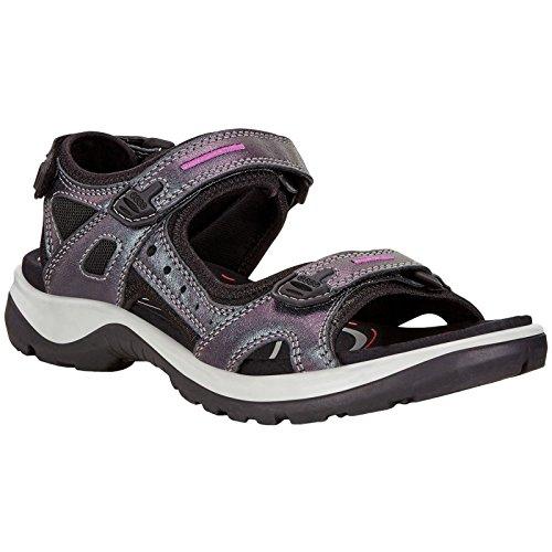 ECCO Women's Yucatan outdoor offroad hiking sandal, irridescent, 6-6.5 M US