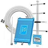 Aclogue Home Cell Phone Signal Booster Verizon ATT 4G LTE 700MHz Band 12/13/17 Mobile Signal Repeater Amplifier Antenna Kits Compatible with T-Mobile, Straight Talk, US Cellular