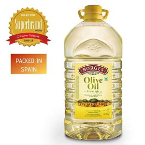 Borges Olive Oil Extra Light Flavours of Olives In 5L Pack In India
