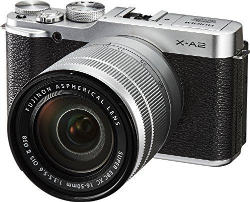 Fujifilm X-A2/XC16-50mmF3.5-5.6 II Silver Mirrorless Digital Camera with Lens Kit