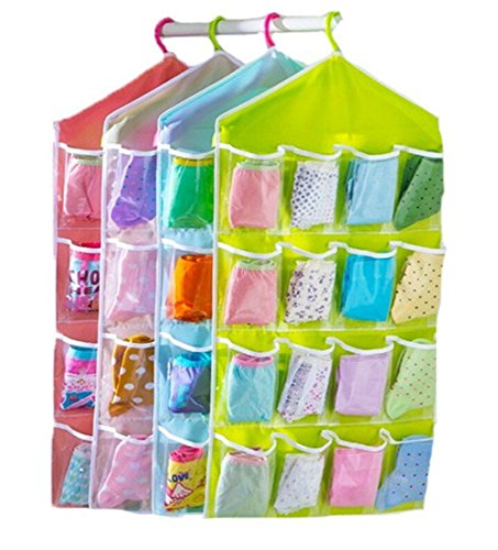 16 Pockets Hanging Storage Bags - LOW PRICE!