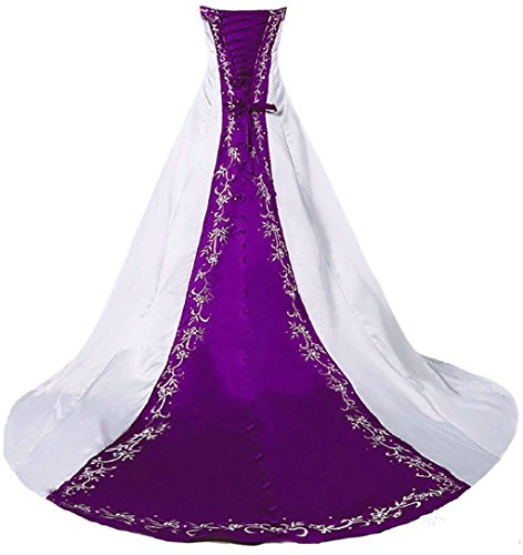 51cjAhYMerL Please do not use your usually wear size. Please make sure to choose a correct size from our size chart only which is listed in the picture area on the left Satin with embroidery,embellished with beads & sequins Lace up/corset back closure
